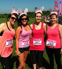 SUPER VAN RENTAL Supports The Race For Life