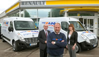 Supervan 1st in Essex To Drive Away New Renault Master