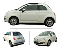 Fiat 500 Car Hire Brentwood