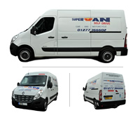 Renault Master (MWB) Automatric Van Hire Brentwood