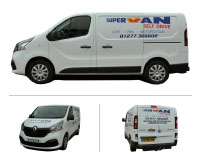 Renault Traffic Van Hire Brentwood