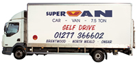 Renault 7.5 Ton Box Lorry Hire Brentwood