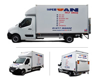 Renault Luton (Tail Lift) Van Hire Brentwood