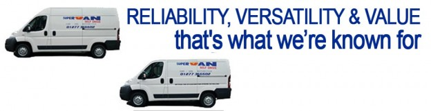 Supervan Ltd Brentwood reliable versatility and value we're known for