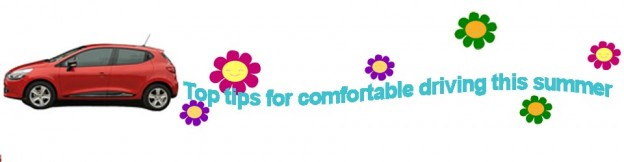 Supervan Ltd Brentwood van hire car hire tips in keeping cool this summer